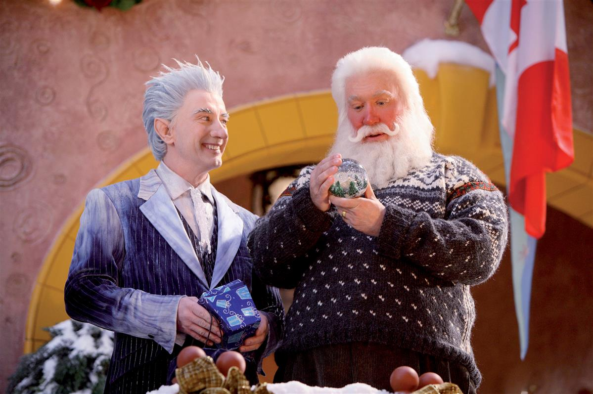 Santa Claus Eine Frostige Bescherung